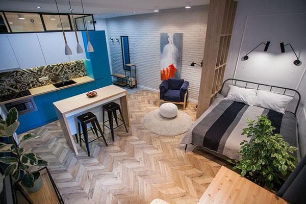 Một căn hộ Studio Moonlight Centre Point sẽ mang tới sự tiện lợi và phóng khoáng cho người sử dụng.